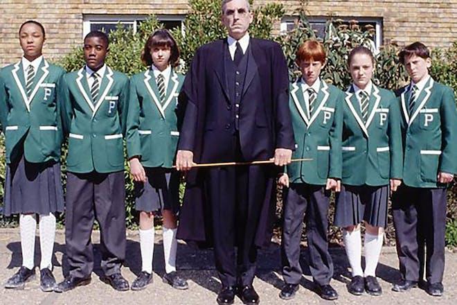 The demon headmaster TV show