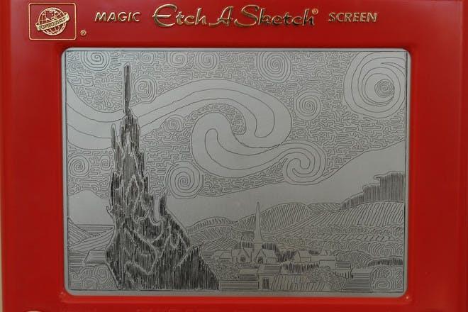 6. Etch A Sketch