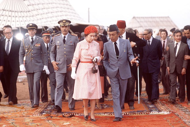 6. Her Majesty in Morocco