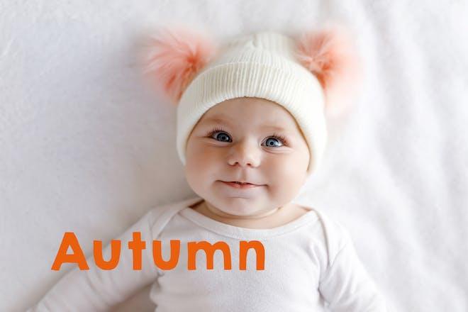 Autumn baby name