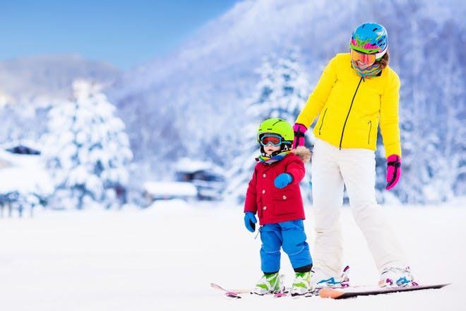 6. A skiing holiday