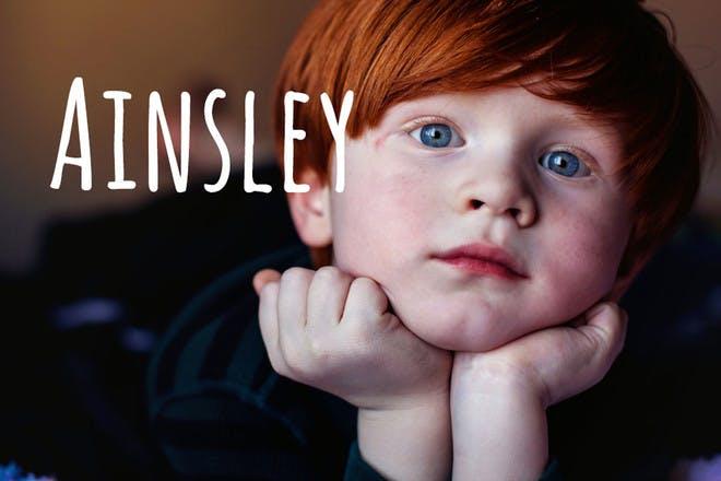 46. Ainsley