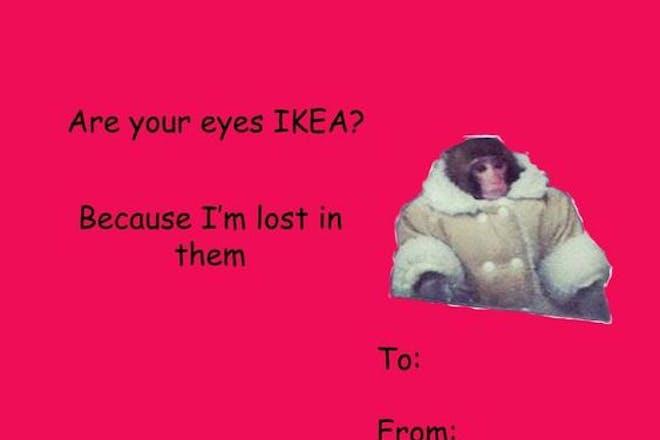 Valentine's card - IKEA