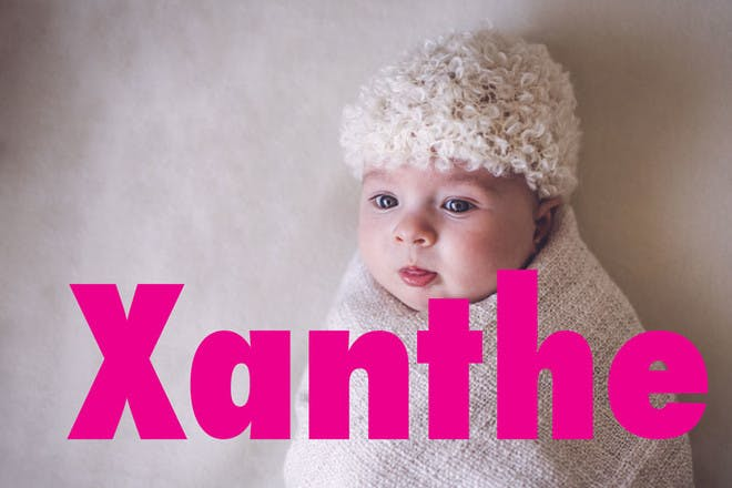 Baby names beginning with 'X'