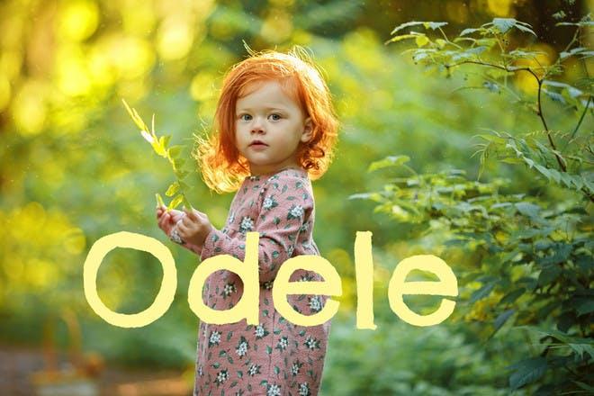 Baby name Odele