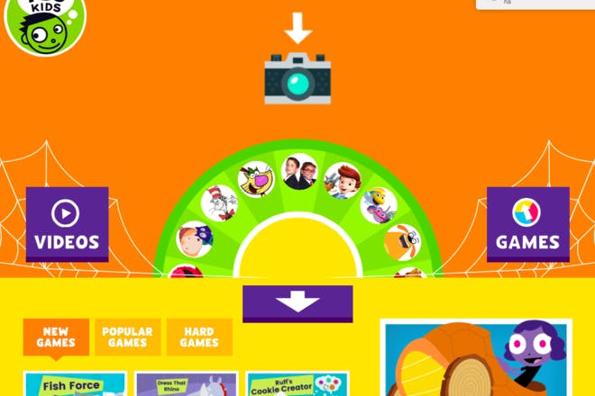 PBS Kids educational website