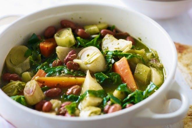 7. Summery vegetable stew