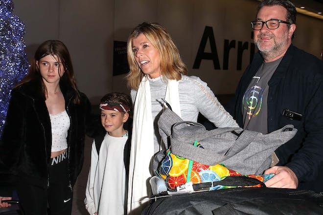 Kate Garraway and family