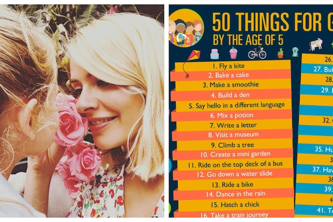 50 fun things girls should try before the age of 5