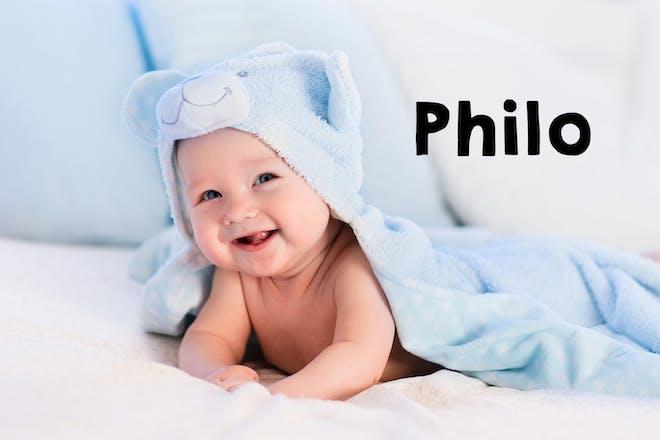 Philo baby name