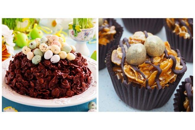 Stunning but simple Easter cornflake cake ideas