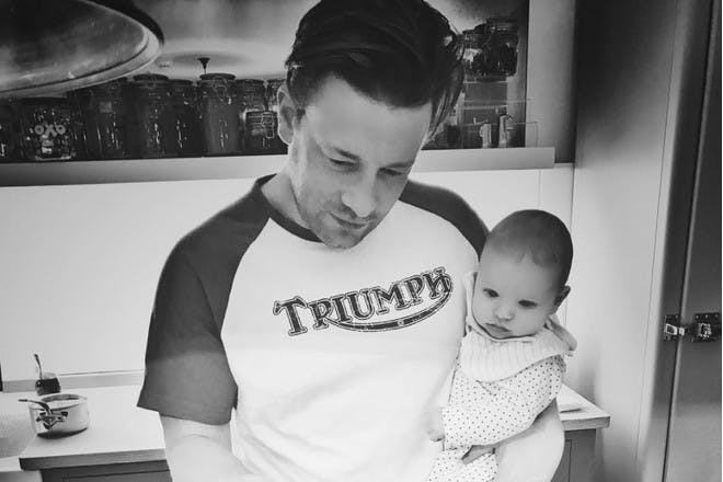 Jamie Oliver and son