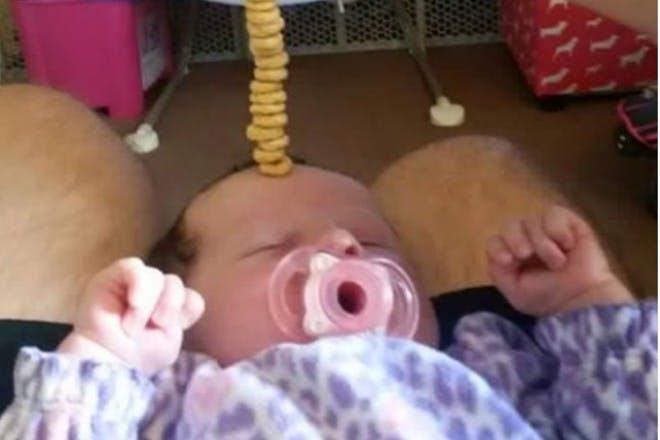 baby cheerio challenge