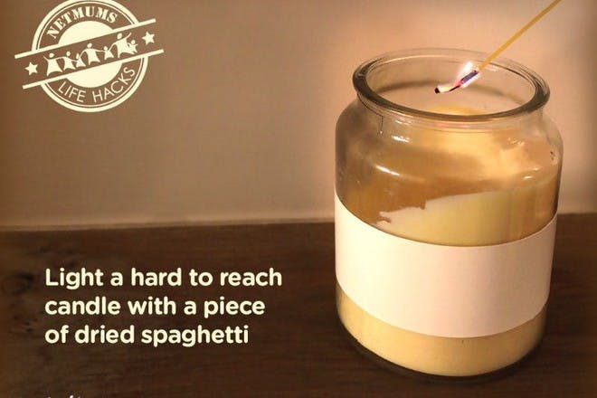 candle being lit