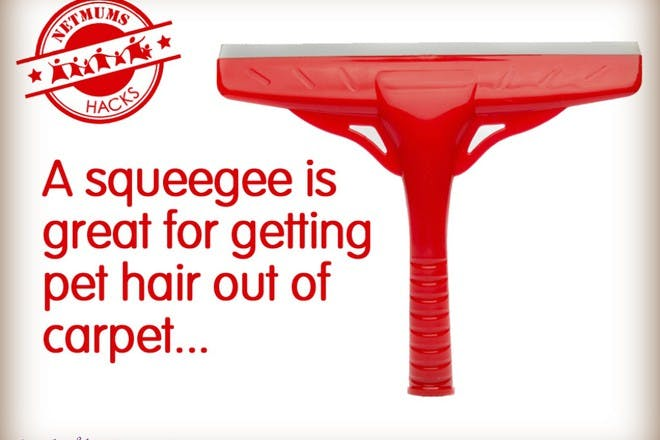 red squeegee
