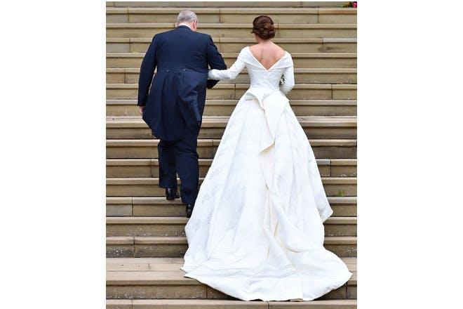 Princess Eugenie wedding train