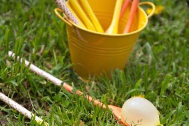 Water balloon eggs