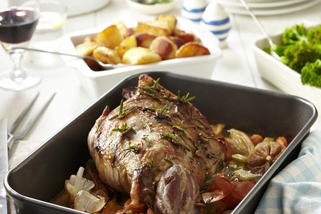Rosemary and garlic roast lamb recipe