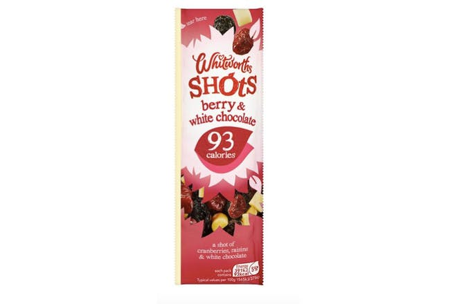 82. Whitworths Berry White Chocolate Shot