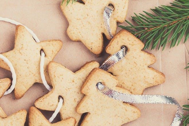christmas salt dough decorations
