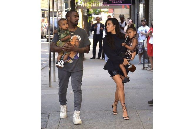 17. Kim Kardashian-West and Kanye West