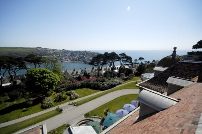 View From Fowey Hall Hotel Cornwall