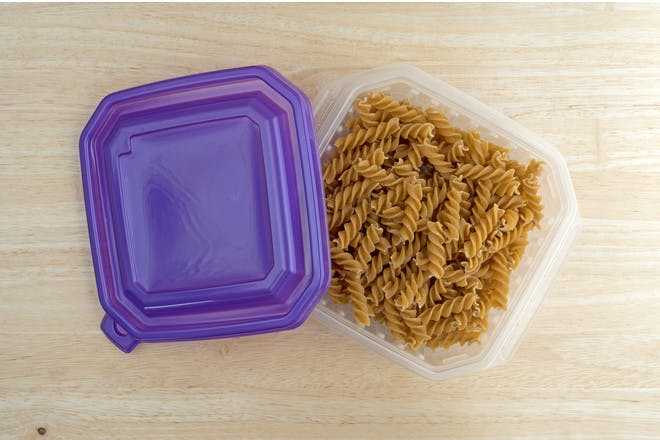 12. Plastic food containers – replace when damaged