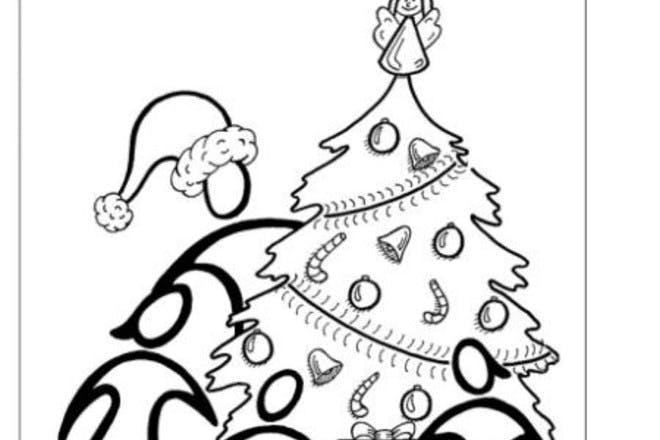 netmums christmas colouring