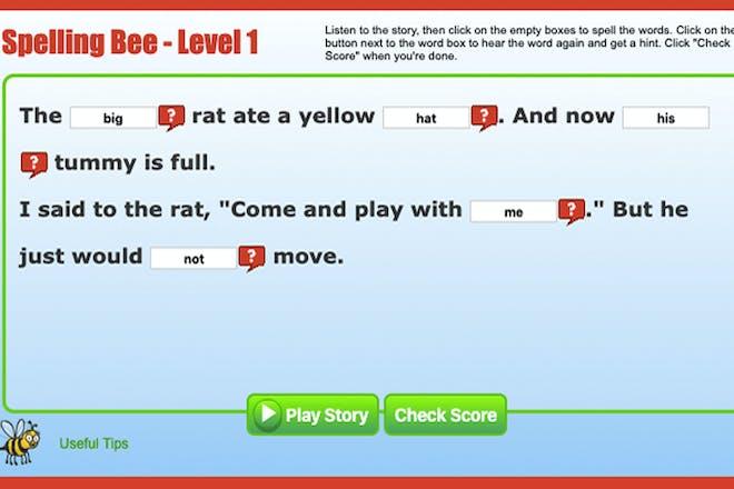 Spelling Bee Interactive screenshot