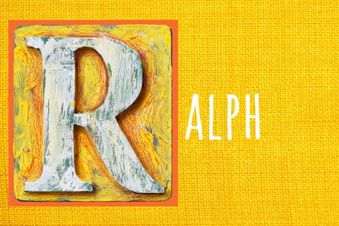Baby name Ralph