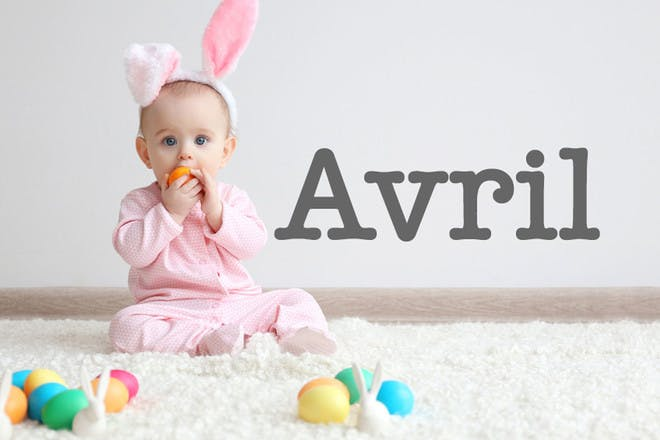 Avril - Easter baby names