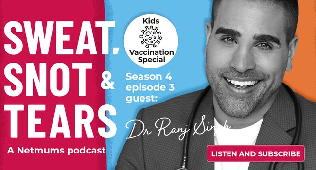 Dr Ranj on Netmums podcast