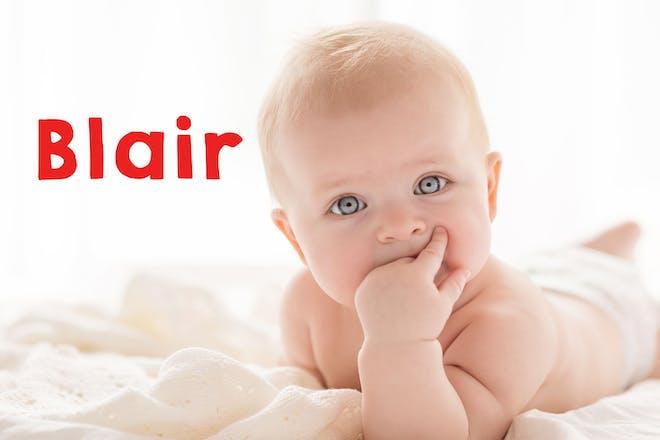 Blair baby name