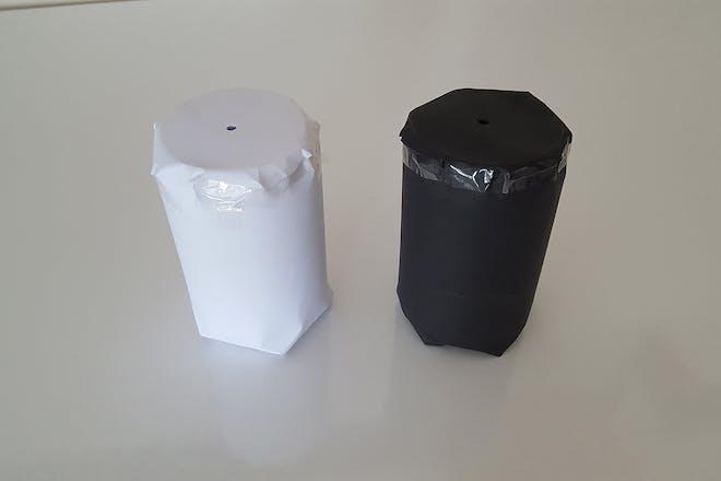 Paper heat experiment