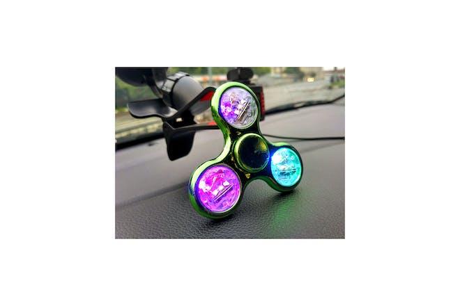 Light up fidget spinner