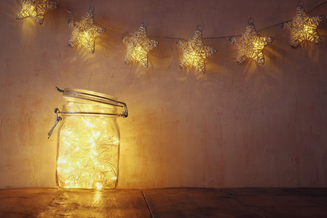 Hang out the fairy lights
