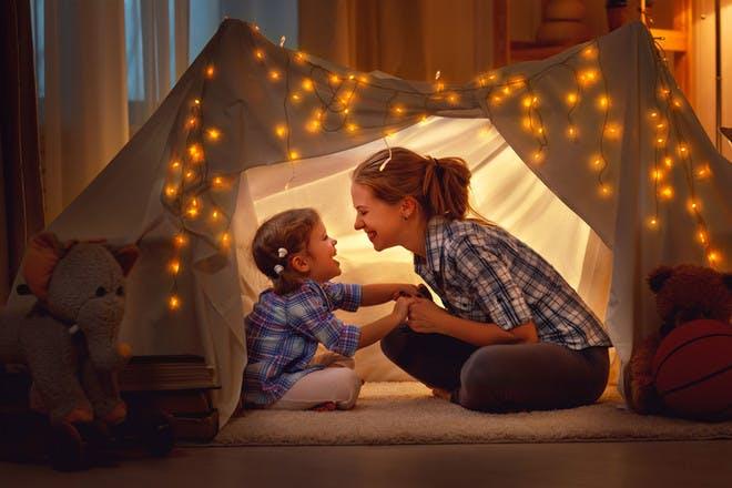 15. Build an indoor fort