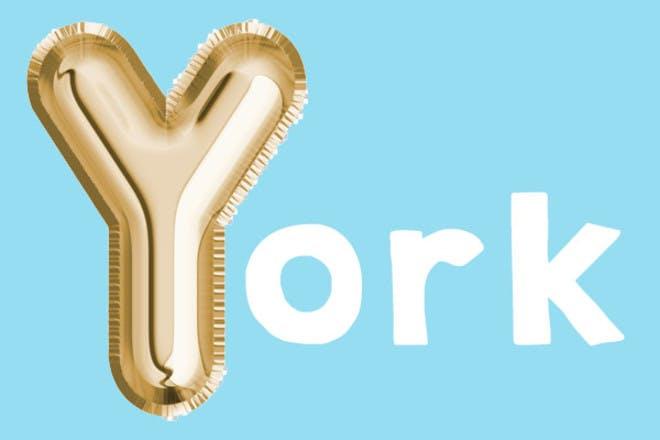 York 'y' name