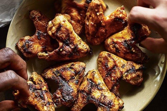 7. 5 chicken wings
