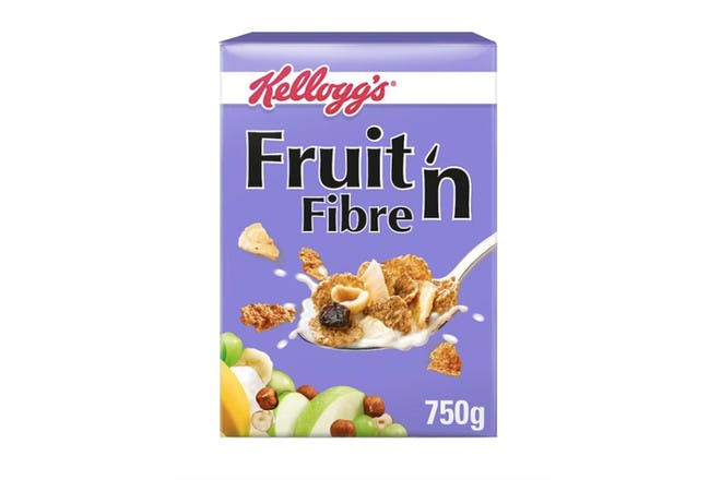 84. Kelloggs Fruit 'n' Fibre Cereal