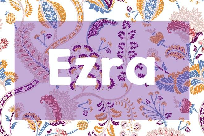Ezra name