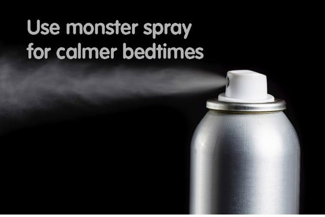 silver spray can