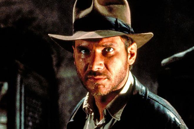 Harrison Ford in Indiana Jones: Raiders of the Lost Ark