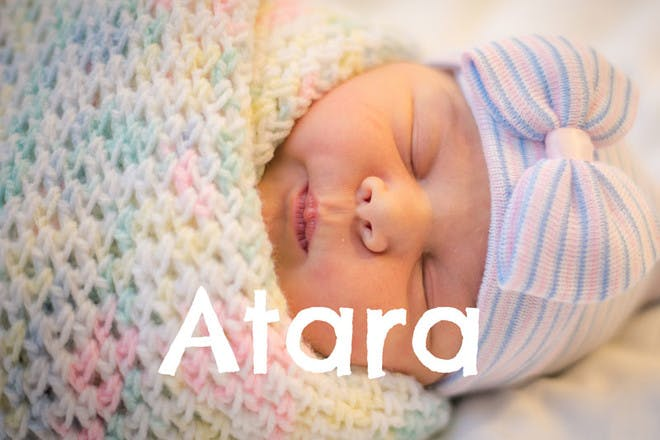 Baby names that mean 'blessed'