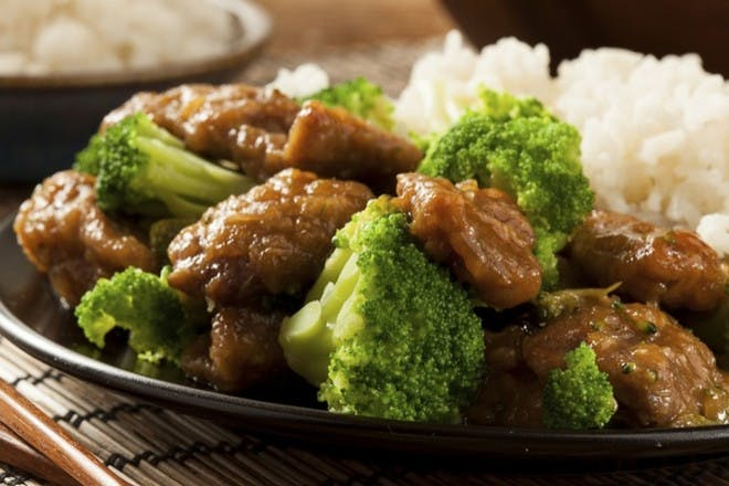 22. Beef and broccoli stir-fry