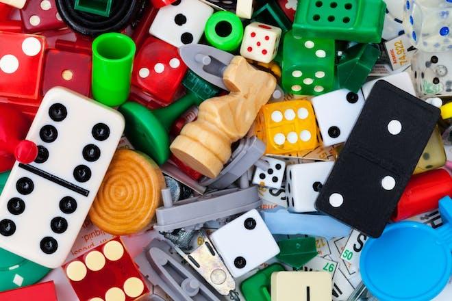 Nostalgic holidays board games card games