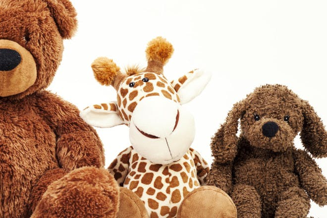 Selection of stuffed toys