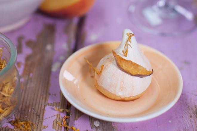 Prosecco meringue