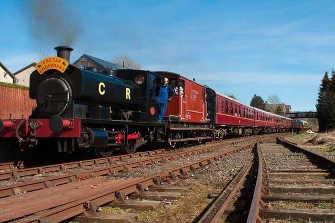 Easter Steam Train ride