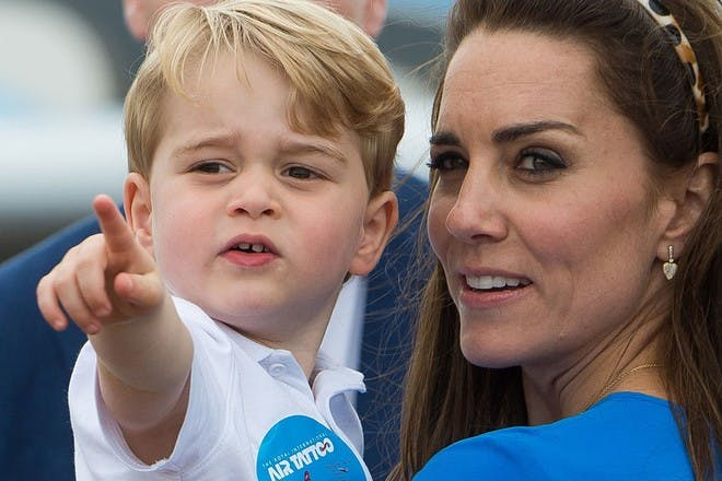 Kate and children